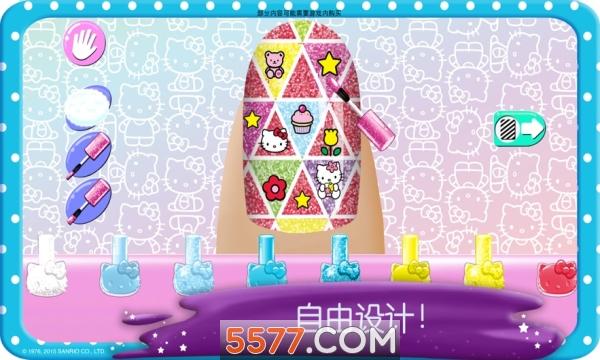 HelloKitty美甲沙龙免费下载游戏