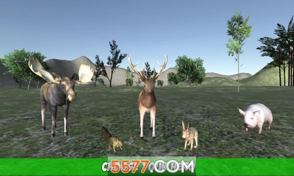 森林动物模拟器游戏截图1