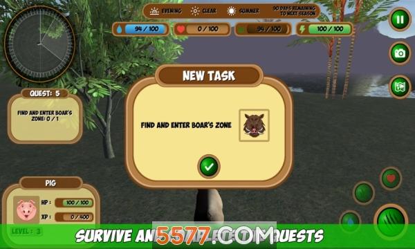 森林动物模拟器游戏截图2