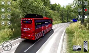 教练巴士停车模拟器游戏