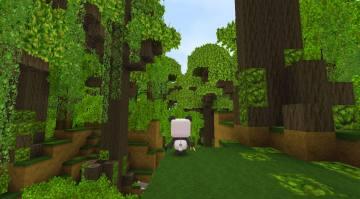 迷你世界雨林地形码截图