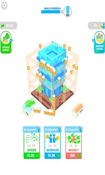 Idle landmark无限钞票版app软件应用开发