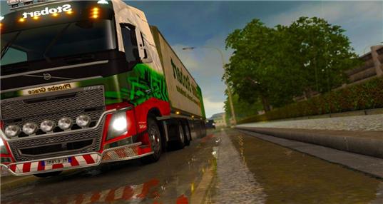 模拟驾驶货车