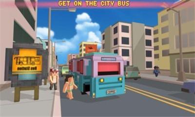 像素巴士模拟器官方版截图1