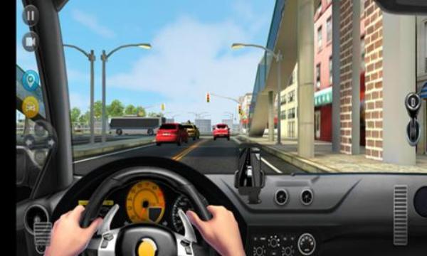 模拟疯狂出租车经典版截图0