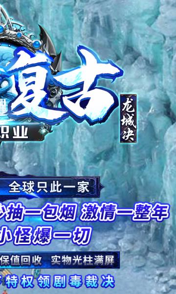 龙城决冰雪单职业bt版截图1