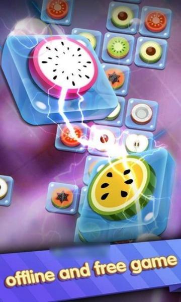 水果闪电方块(Link The Tile)手机版截图0
