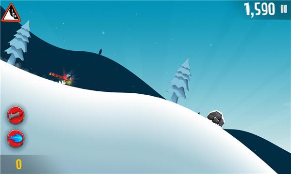 滑雪大冒险破解版截图2