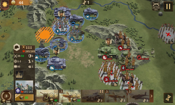 钢铁命令将军的荣耀3游戏截图2